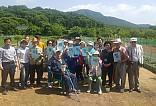 등촌해피팜 마을리더 농장체험 단체사진