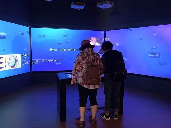 강화전쟁박물관 내부 관람