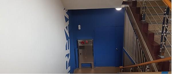 지하1층 다모아드림 마을상점 도색