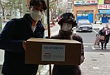 희망브리지 코로나19 재난취약가정 지원 키트 배분사진1