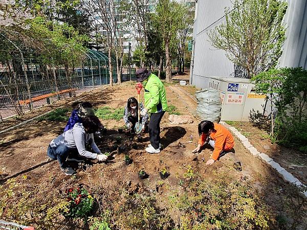 마을지킴이 식목일활동 2