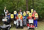 포천 국립 수목원에서 단체사진