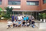한미글로벌 임직원 단체사진